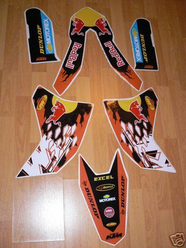 Messages 5, je vends un kit red bull pour ktm de 125 a 525 2007 envoyer moi un mail pour les photos sebmx12@neuf.fr